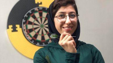 تصویر از دانشجوی کارشناسی ارشد مراقبت ویژه نوزادان نایب قهرمان پرتاب دارت آنلاین در دانشگاه علوم پزشکی شهید بهشتی شد