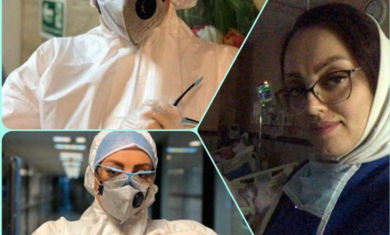 Photo of پرستارى که در روز جهانی پرستار به پدر شهیدش پیوست