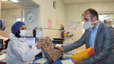 تصویر از بازدید هیئت مدیره نظام پرستاری تهران از بیمارستان شهدای یافت آباد