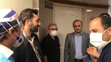 تصویر از بازدید میدانی اعضای هیات مدیره نظام پرستاری تهران از بیمارستان خصوصی ابن سینا
