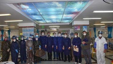 تصویر از بازدید میدانی اعضای هیئت مدیره نظام پرستاری تهران از مدافعان سلامت در بیمارستان بقیه الله