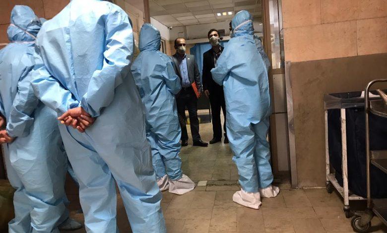 Photo of حضور هیئت مدیره نظام پرستاری تهران در بیمارستان فیاض بخش
