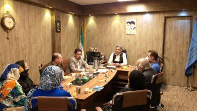 تصویر از دیدار مالکان پروژه لاکان با رئیس هیئت مدیره نظام پرستاری تهران