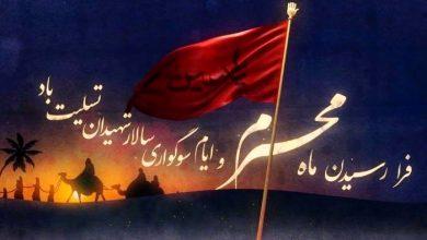 تصویر از پیام تسلیت هیئت مدیره نظام پرستاری تهران به مناسبت فرارسیدن ایام محرم